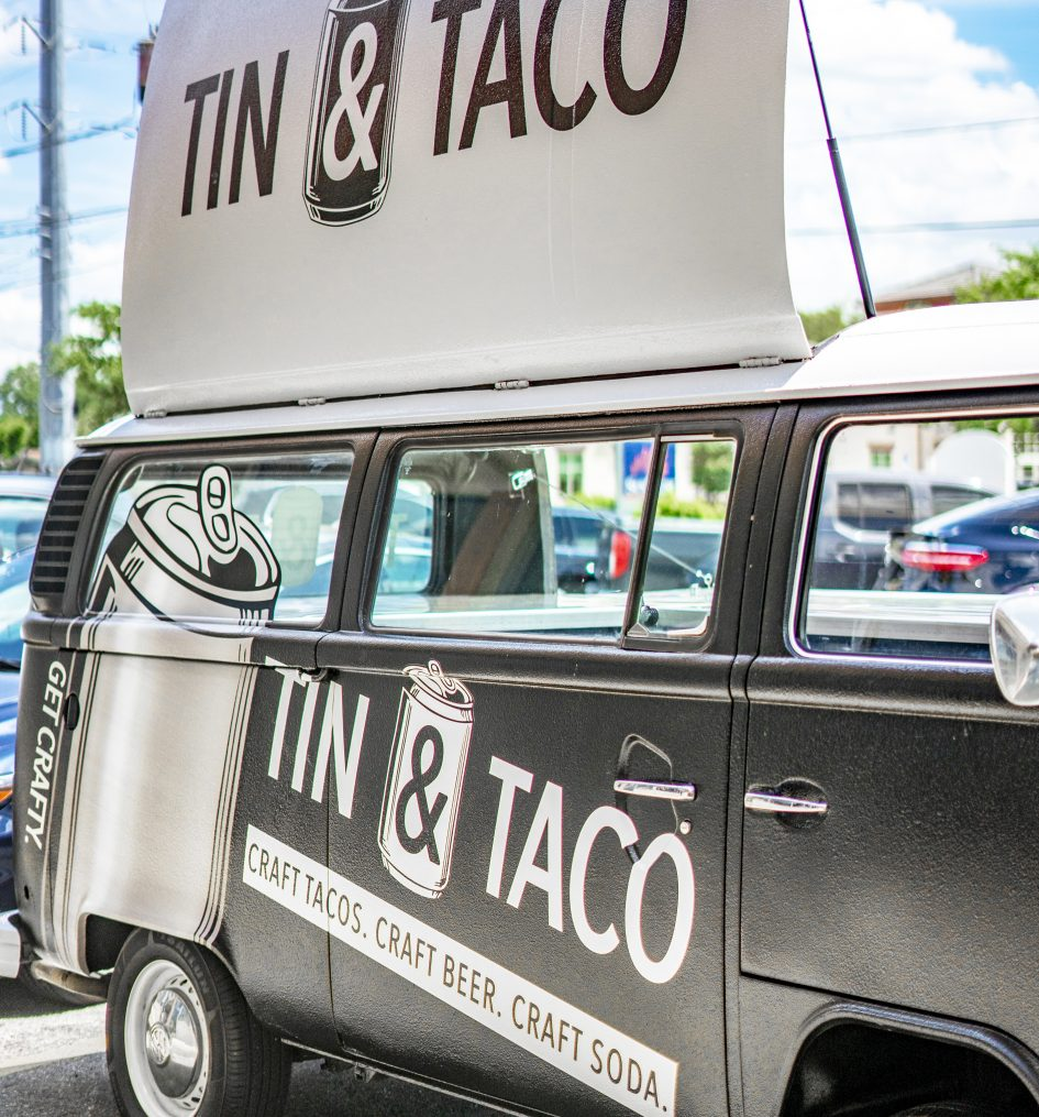 Catering van Tin and taco
