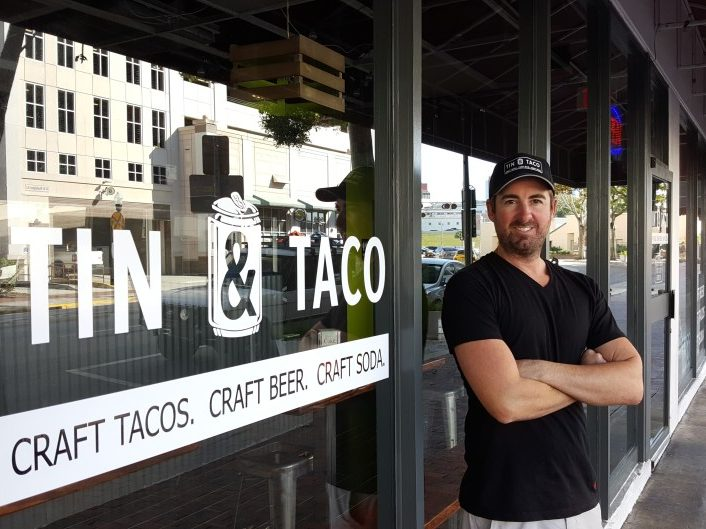 Tin and Taco owner Rob Bair